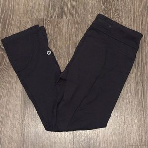 lululemon athletica Pants - Lululemon Inspire Crop Black 4